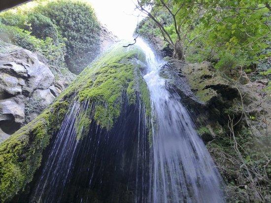 Richtis Gorge: Richtis waterfall from below