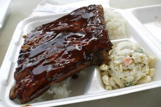 Bradduh Hutt: BBQ pork ribs