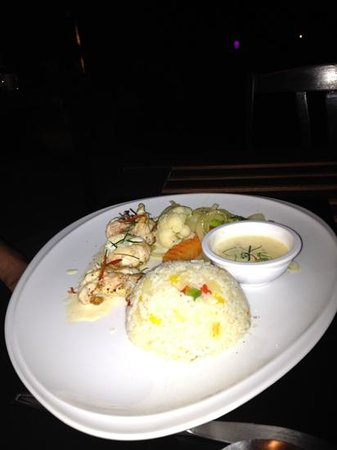 Jaidee Resort: lobster tail!!!