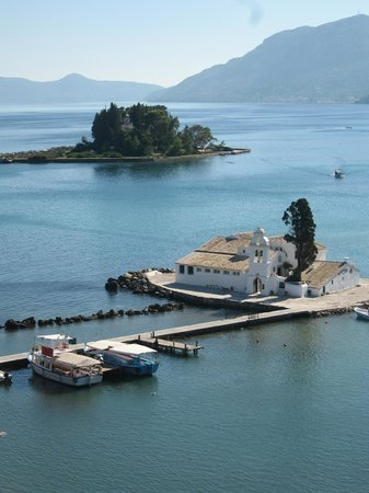 Corfu Holiday Palace: View of Monastery and Mouse Island