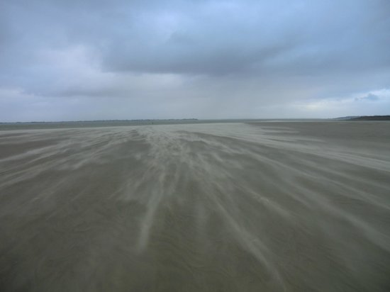 Decouvrons la Baie de Somme Day Tours : Tempête de sable - le Hourdel