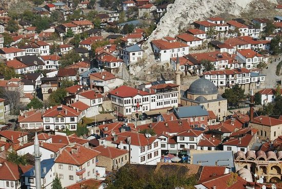 Beypazari, Turkije: View from the hill
