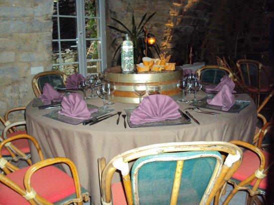 Domaine d'Alcapies: le restaurant