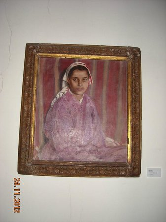 American Legation: Moroccan Mona Lisa painting by American resident in Tangier