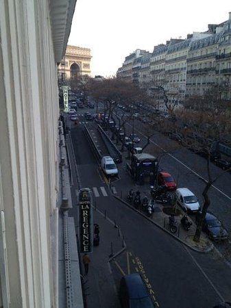 Hotel Regence Etoile: View from room 402