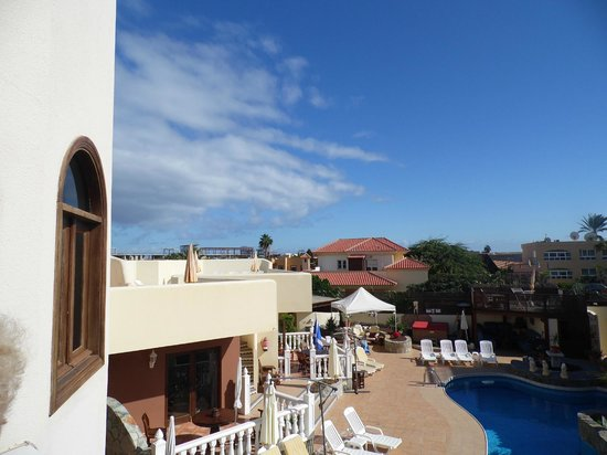 Infiniti Fuerteventura: View from one of the balconies over complex