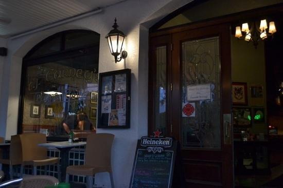 T J Carney's: the restaurant