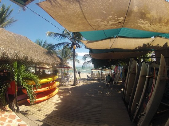 Posada Paraiso: Beachbar
