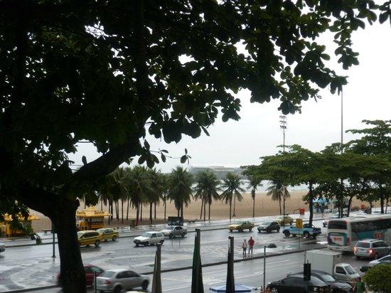 Tulip Inn Rio Copacabana: vue de la terrasse