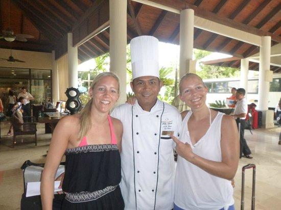 Dreams Palm Beach Punta Cana: Chefkoch...