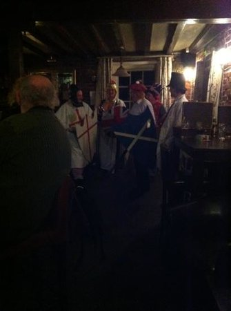 comedy play at the black robin