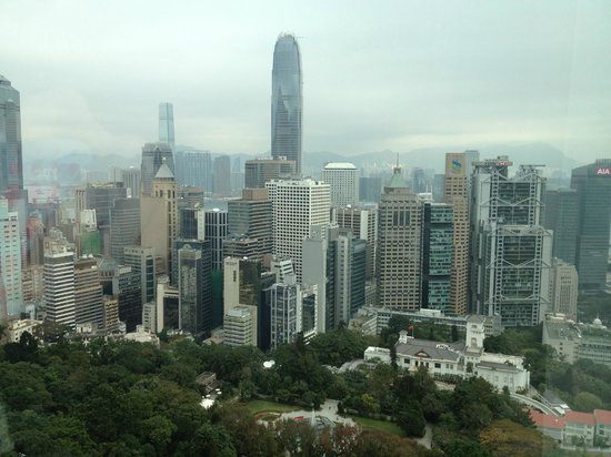 Two MacDonnell Road: View from my room