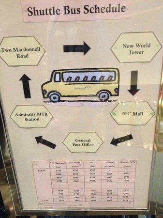 Two MacDonnell Road: Shuttle service