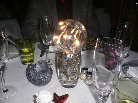 La Metairie: décor table reveillon