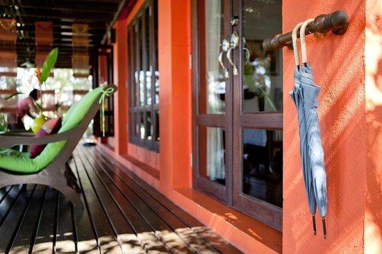 Baannamping Riverside Village: Complimentary Umbrellas