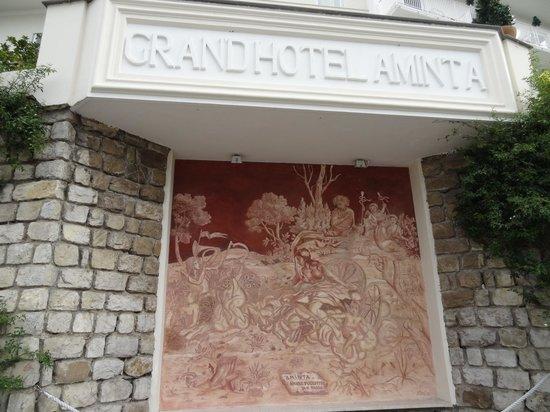 جراند هوتل أمينتا: ingresso hotel 