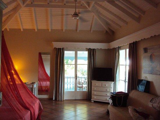 Hotel La Plantation: Suite 602 mit Blick aufs Meer