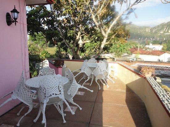 Casa Particular Ridel y Claribel: Nouvelle terrasse 1er niveau