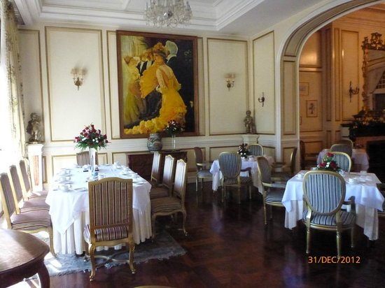 Dalat Palace Heritage Hotel: Restaurant for breakfast and other meals