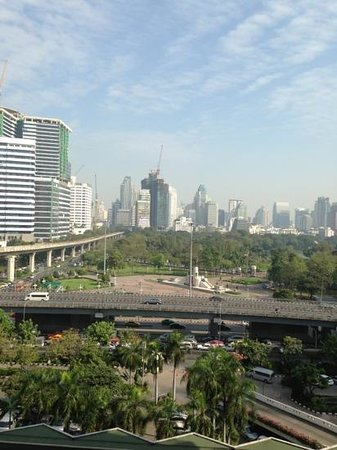 Dusit Thani Bangkok: view from room 910