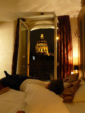 Hotel de l'Empereur: View from our bed!