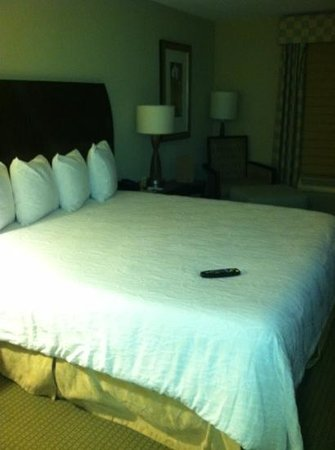 Hilton Garden Inn Frederick: awesome bed!