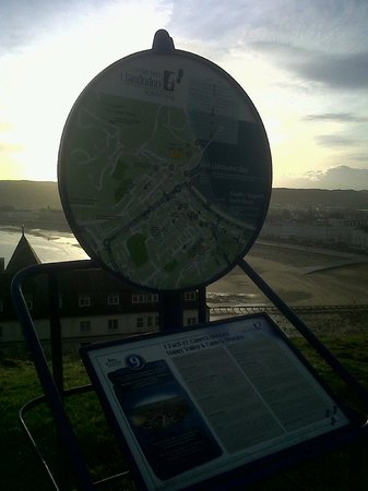 Camera Obscura is on the Llandudno Town Trail