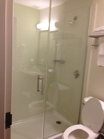 Sleep Inn JFK Airport: shower