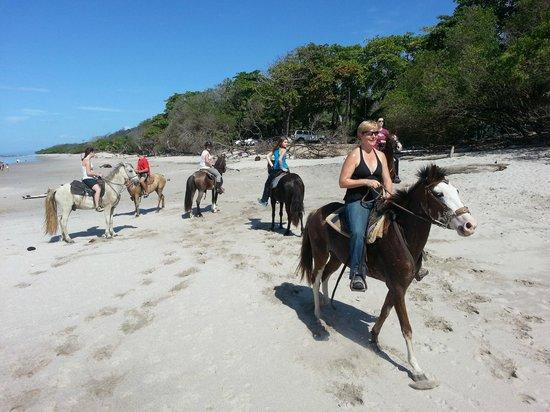 Sunrise Ranch: Great beach ride
