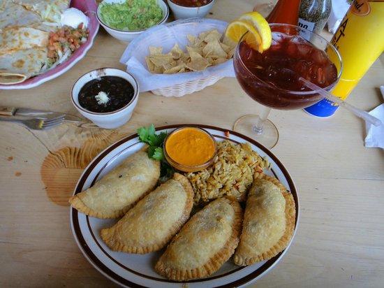 Border Cafe: Black bean & corn empanadas - delicious!