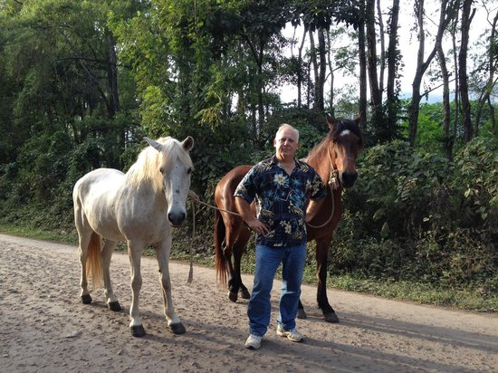 Hacienda la Esperanza: Rodger and his horses