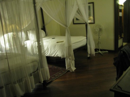 Safari Park Hotel: I liked the mosquito nets: they gave the room a real tropical flair