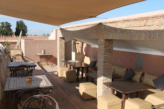 Riad Dar Beldia: terrasse