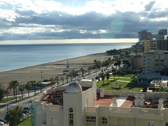 Hotel Riu Costa del Sol : View from room at sunset