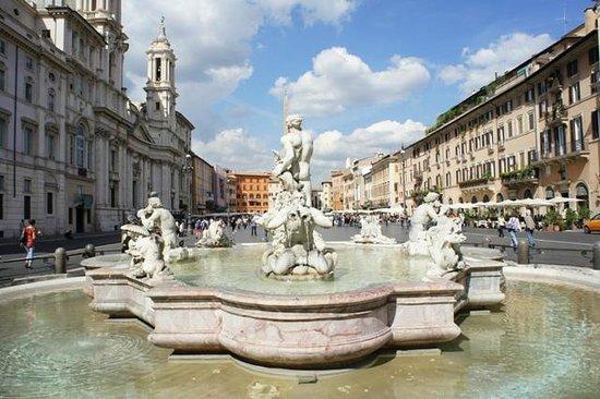 Hotel Navona: piazza Navona