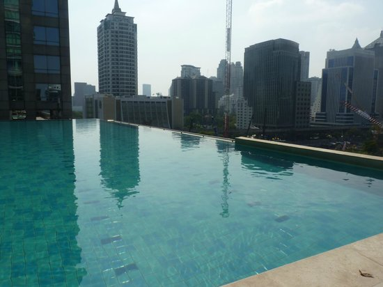 Sivatel Bangkok: The coolest pool I know