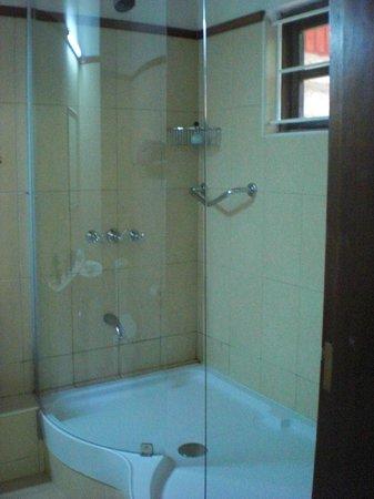 Macushla House: shower