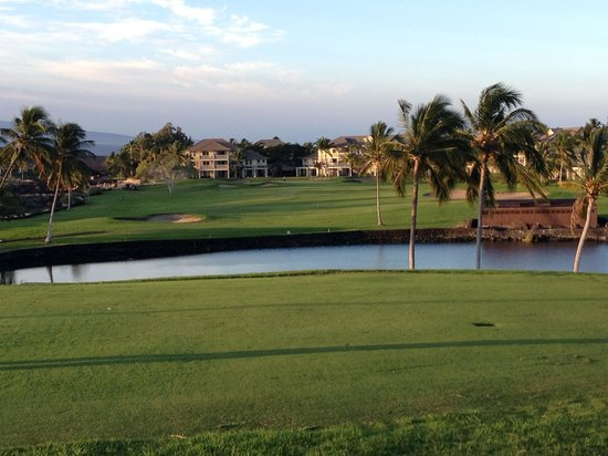 Waikoloa Beach Golf Course: Nice views