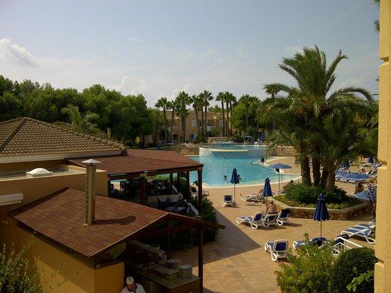 Hotel Apartamentos Princesa Playa: Our gorgeous view