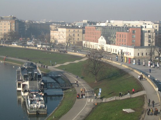 Sheraton Grand Krakow: The hotel from wawel castle