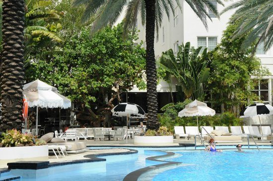 The Raleigh Miami Beach: Most beautiful pool in Miami