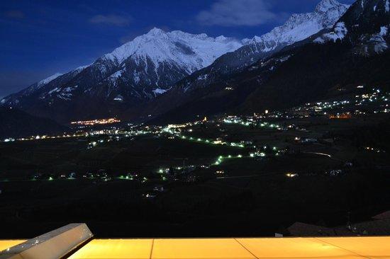 Hotel Resmairhof: panorama di notte