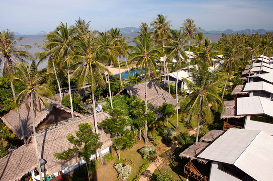 Islanda Hideaway Resort: Bird eye view