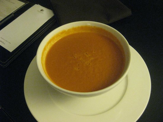 Doubletree by Hilton Chicago Magnificent Mile: Tomato soup from room service