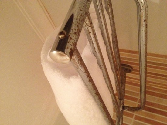 Sea Sun Hotel Dahab: Towel rail