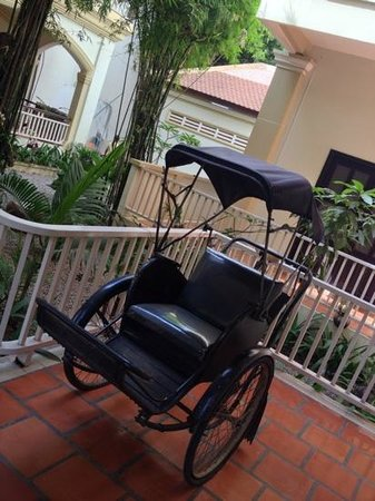 Grand Sunset Angkor Hotel: rickshaw