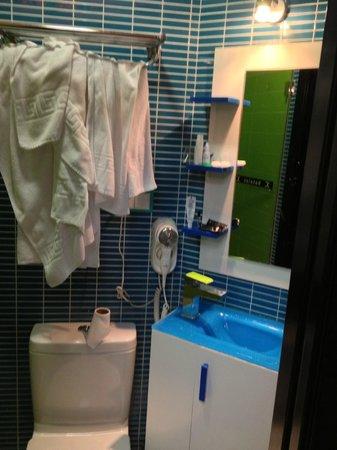 JC Rooms Puerta del Sol: Wc e lavabo