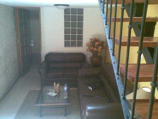 Tierrasur Hotel: vista del primer piso de la habitación simple