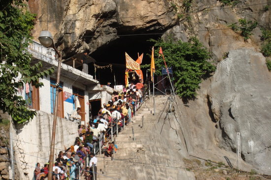 Jammu and Kashmir, India: Shiv Khori Cave Entrance 2