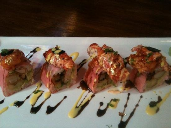 Tokyo bay sushi & grill: special roll
